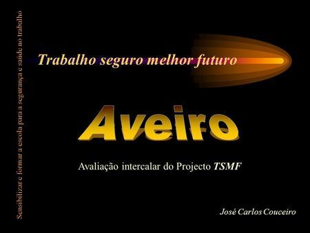 Trabalho seguro melhor futuro Sensibilizar e formar a escola para a segurança e saúde no trabalho Avaliação intercalar do Projecto TSMF José Carlos Couceiro.