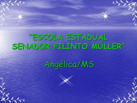 Angélica/MS.