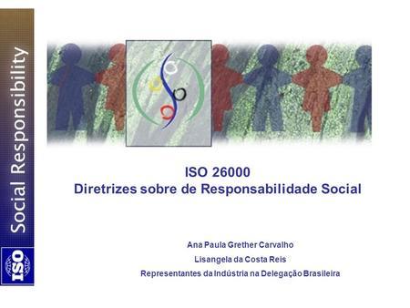 ISO Diretrizes sobre de Responsabilidade Social